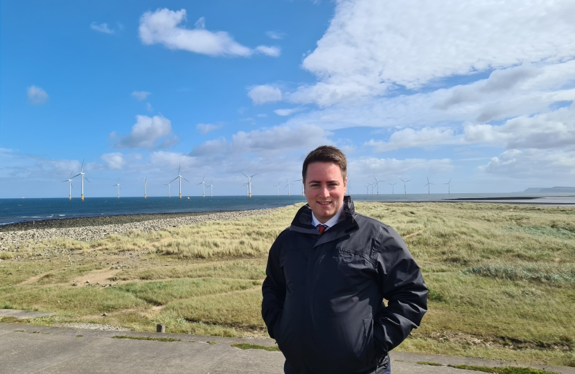 jacob and redcar wind turbines